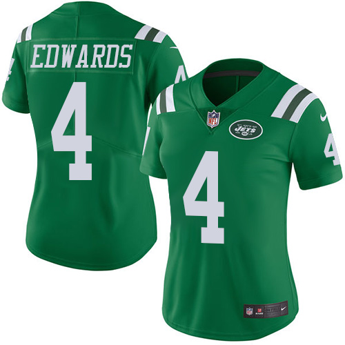 Women's New York Jets Marcus Williams Pro Line Team Color Jersey